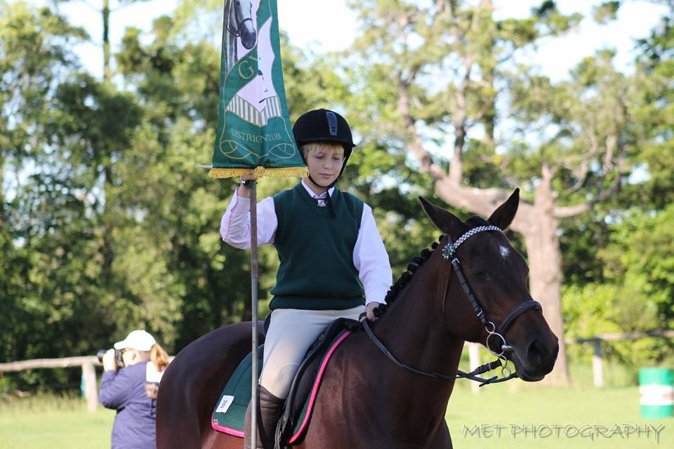 Gympie Pony Club rider