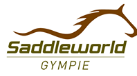 Saddleworld Gympie logo